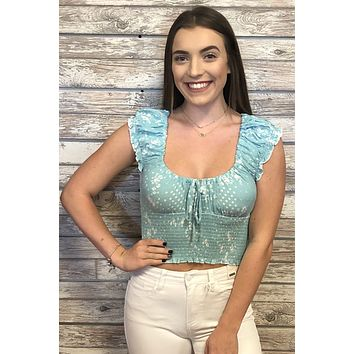 Picnic Top- Mint