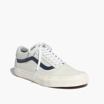 Vans® Old Skool Lace-Up Sneakers in Leather