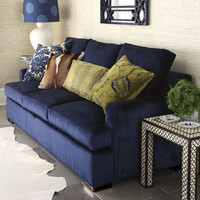 """Old Hickory Tannery - """"Bali Ocean"""" Sofa - Horchow"""