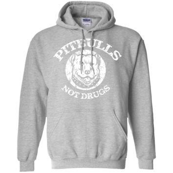 Pitbulls, Not Drugs! Hoodie