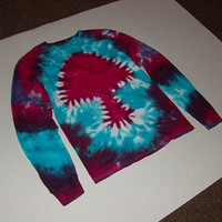 Tie Dye Mushroom Long Sleeved TShirt any size by OriginalAccents