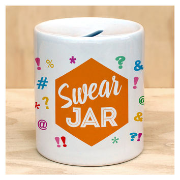 Swear Jar Coin Bank