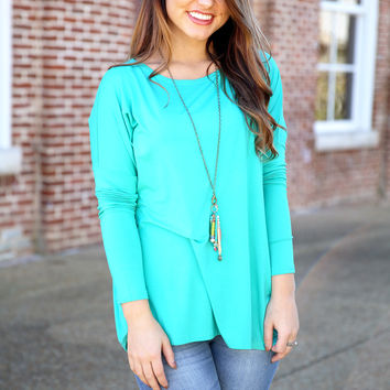 Piko Top - Turquoise