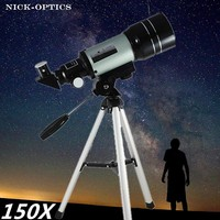 Phoenix Optical Telescope 150x Professional F30070M HD Astronomical Refracting Telescope Astronomic Jumelles Zoom scope Science