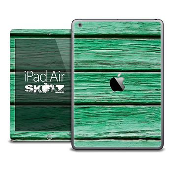The Green Wood V3 Skin for the iPad Air