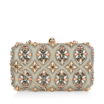 Ava Hardcase Clutch Bag | Multi | Accessorize