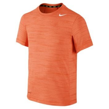 Nike Dri-FIT Cool Boys' Training Shirt Size Small (Orange)