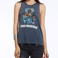 Chaser Jimi Hendrix Experience Tripping Deep Armhole Racerback Tank