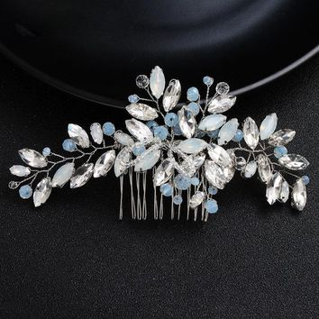 Marquise Crystal Bridal Hair Comb