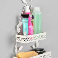 Birds & Leaves Shower Caddy