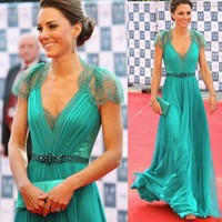 Women Unique Ball Prom Gown Formal Evening Party Long Dress