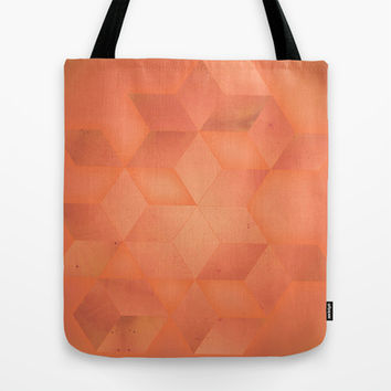 PEACH Tote Bag by DuckyB (Brandi)