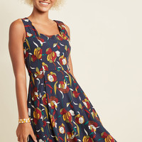 Aim to Inspire A-Line Dress