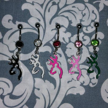 Browning Buck Belly Ring