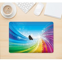 "The Rainbow Hd Waves Skin Kit for the 12"" Apple MacBook"