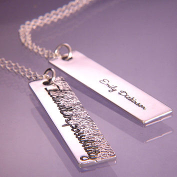 Dwell In Possibility Sterling Silver