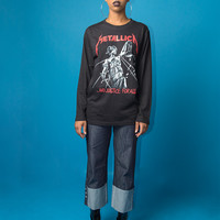 Metallica And Justice For All Unisex Long Sleeve T-shirt