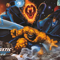 Fantastic Four Marvel Comics Poster 24x36