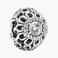 Women's PANDORA 'Floral Brilliance' Bead Charm