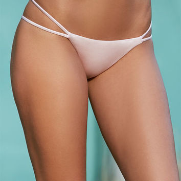 LA Hearts Strappy Side Skimpy Bikini Bottom at PacSun.com