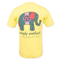 Simply Southern Elephant T-Shirt - Yellow