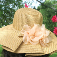 Light tan sun hat