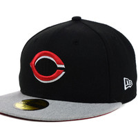Cincinnati Reds MLB Team Heather 59FIFTY Cap