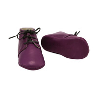 Gaby Purple Booties, sz. 16, Children's Clothing
