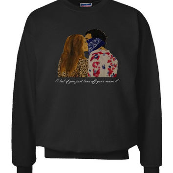 The 1975 Robbers Painting Sweatshirt