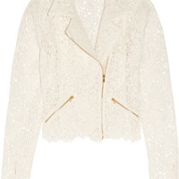 Rime Arodaky - Drew cotton-blend guipure lace jacket