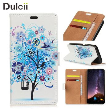 DULCII Case Funda for Xiaomi Redmi Note 5A PU Leather Wallet Stand Protect Cover for Xiomi Redmi Note5A Smartphone Capa Bag