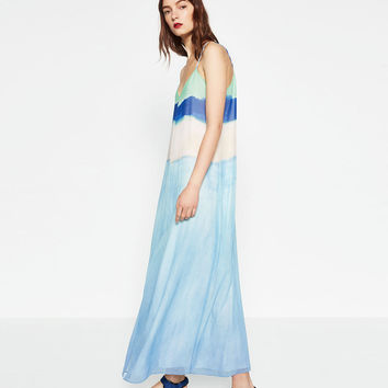 TIE - DYE DRESS-View all-WOMAN-NEW IN | ZARA United States