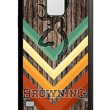 Browning Deer Geoetric Wood iPhone 6/6s Case White