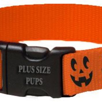 Halloween Dog Collar - Pumpkin Face