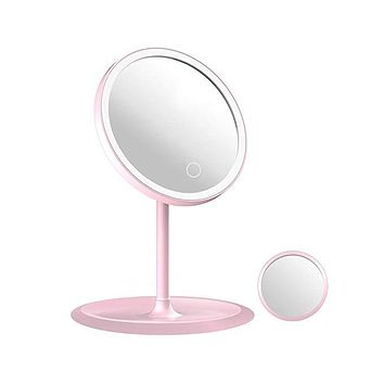LED Makeup Mirror with 1 & 5X Magnification