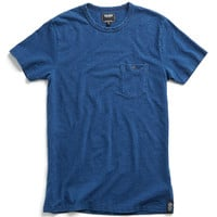Classic Pocket Tee in Washed Indigo