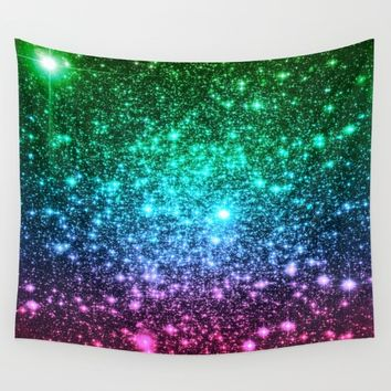 glitter Wall Tapestry by 2sweet4words Designs