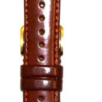 Toscana Genuine Glazed Calf Skin Watch Strap