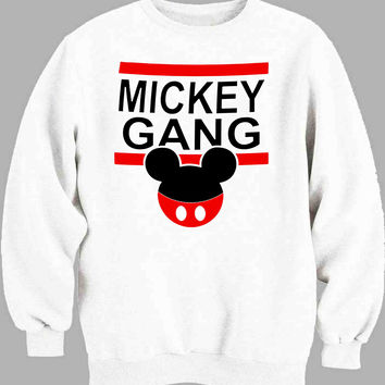 Disney Inspired Mickey Gang and Minnie Gang men Sweater for Mens Sweater and Womens Sweater *