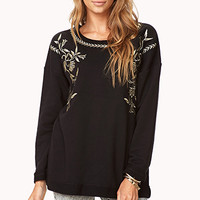 Boxy Baroque Pullover | FOREVER 21 - 2077917845