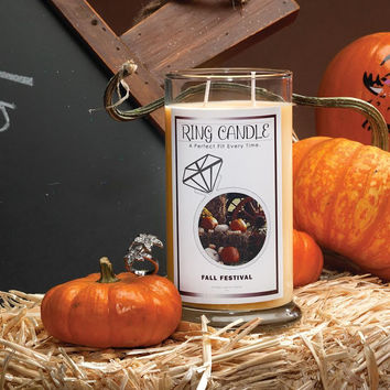 Fall Festival Ring Candle