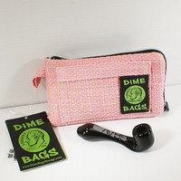 "7"" Pink Dime Bags with Small black Grav Labs Sherlock"