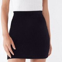 UO Jersey Corduroy Mini Skirt | Urban Outfitters