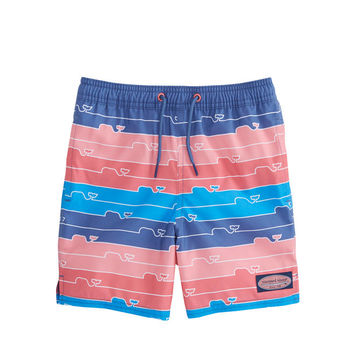 Boys Whale Line Chappy Trunks
