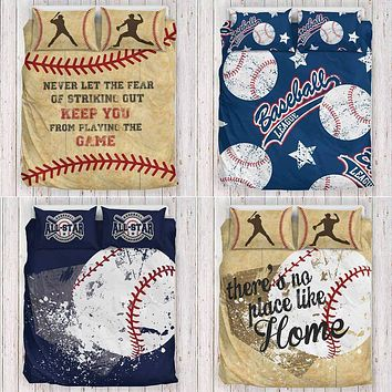 Herzoge™ Baseball Bedding Set