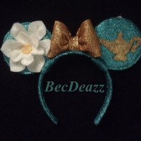 Disney Princess Jasmine Minnie Mouse ears headband