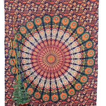 Hippie Tapestries, Mandala Tapestries, Tapestry Wall Hanging, Bohemian Tapestries, Wall Hanging, Indian Tapestry, Hippie Dorm Tapestries