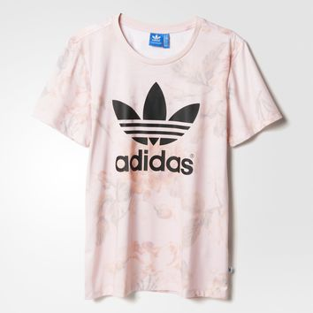 adidas PAST ROSE AOP T - Multicolor | adidas US