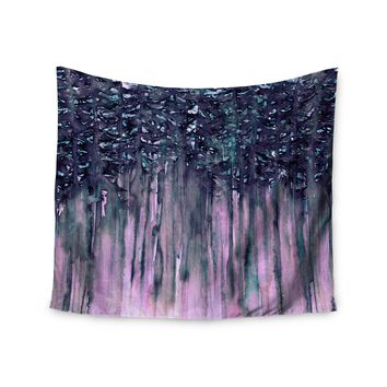 "Ebi Emporium ""Northwest Vibes 5"" Purple Pink Wall Tapestry"