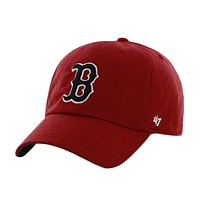 Boston Red Sox - Logo Franchise Red Fitted Baseball Cap